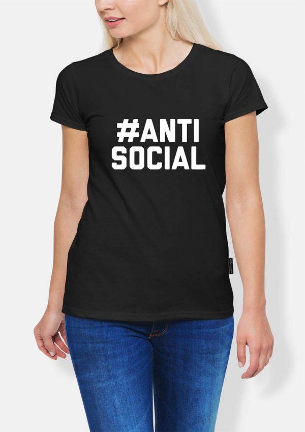 Koszulka #antisocial