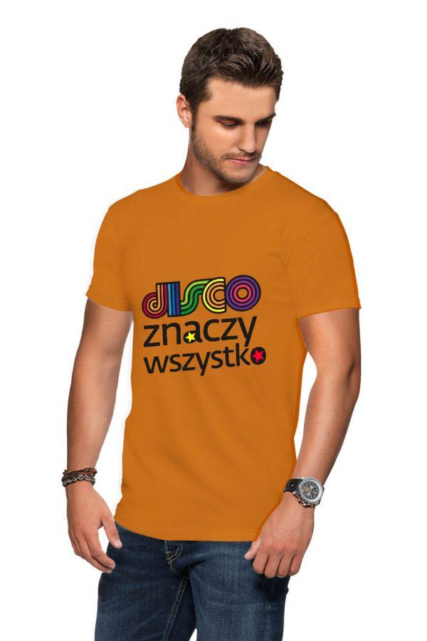 Koszulka disco znaczy wszystko