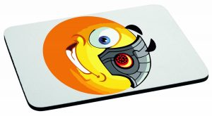 Podkładka pod mysz emotka cyber