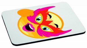 Podkładka pod mysz emotka w masce