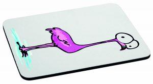Podkładka pod mysz flaming zdziwiony