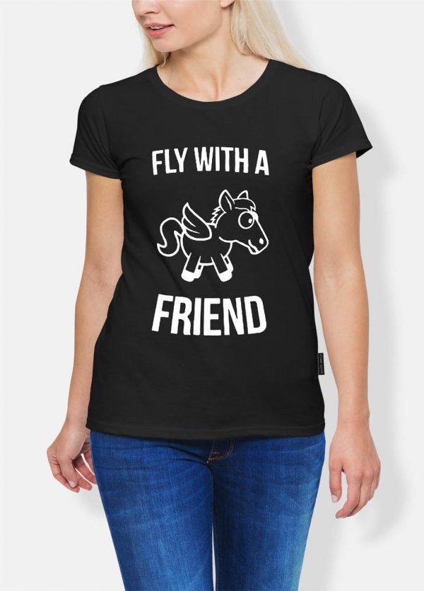 Koszulka jeździectwo fly with a friend