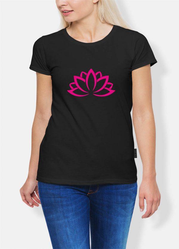 Koszulka joga kwiat
