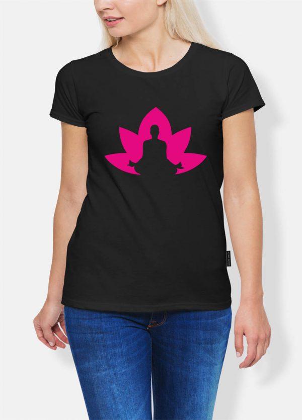 Koszulka joga lotos