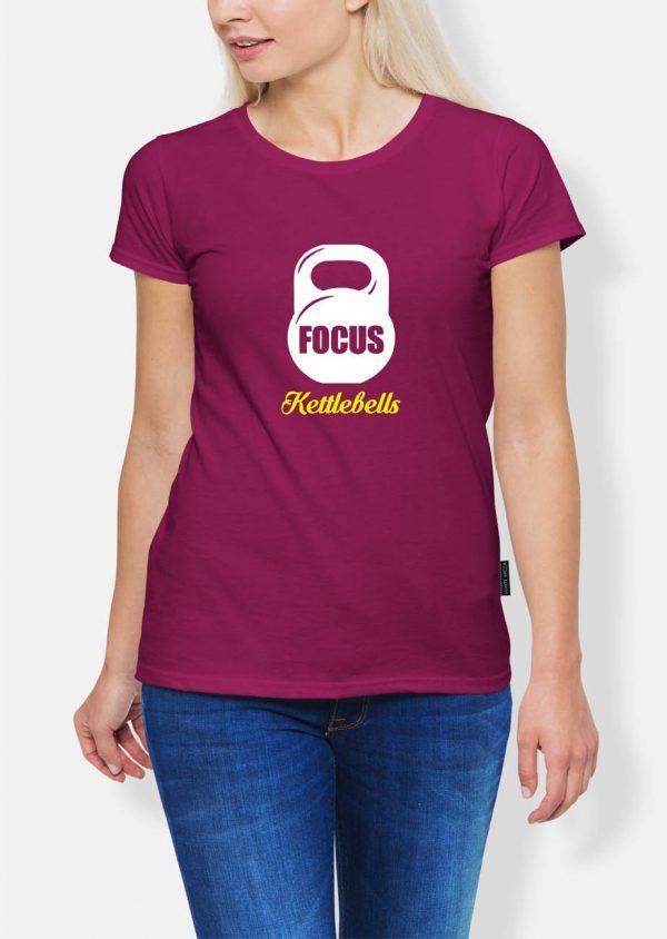 Koszulka kettlebell focus lady