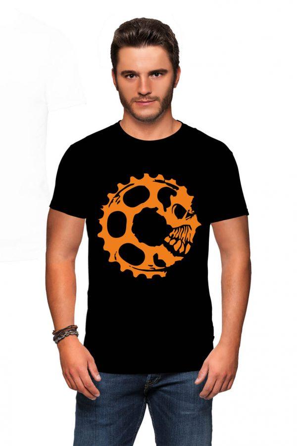 Koszulka mtb czaszka