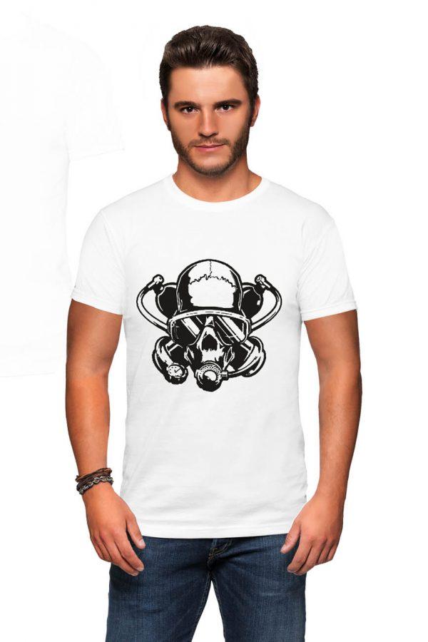 Koszulka nurek czaszka