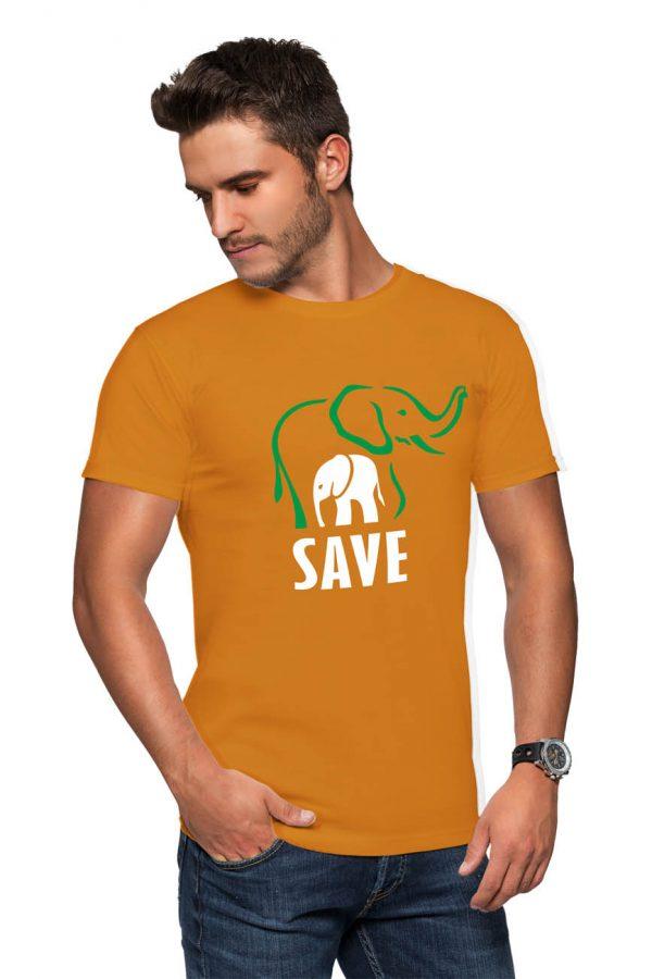 Koszulka ochrona zwierząt save elephants