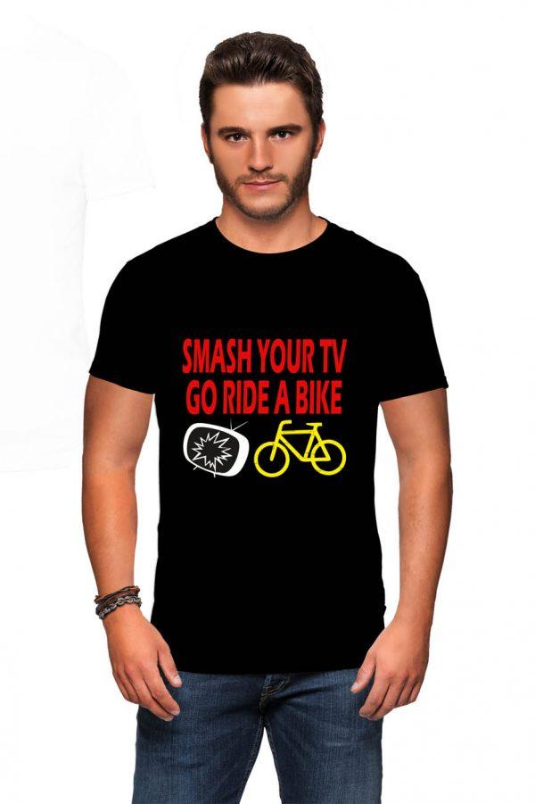 Koszulka smash tv go ride a bike