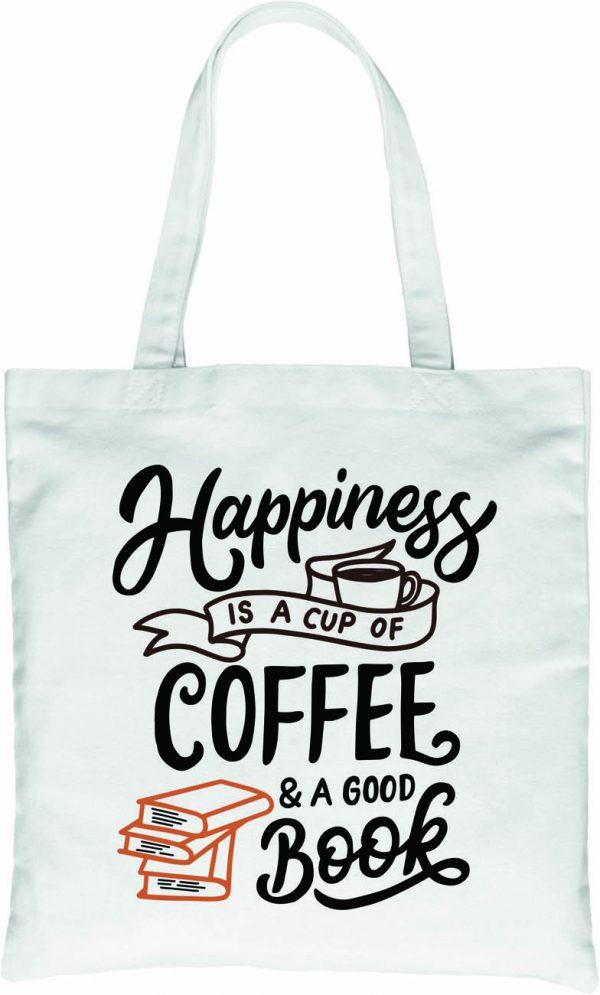 Szczęście to kawa i książka