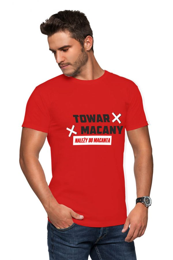 Koszulka towar macany należy do macanta