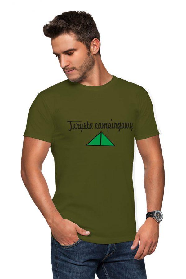 Koszulka turysta campingowy