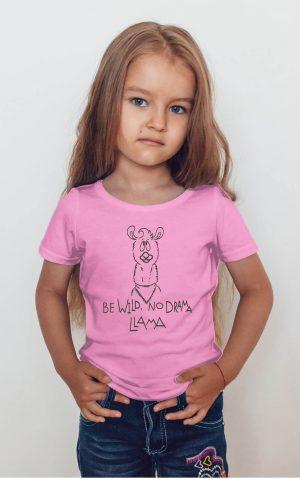 Koszulka be wild no drama lama