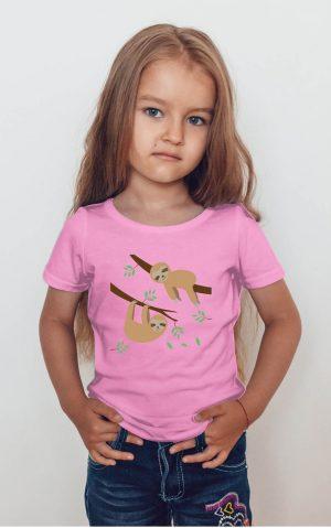 Koszulka dzieci leniwce
