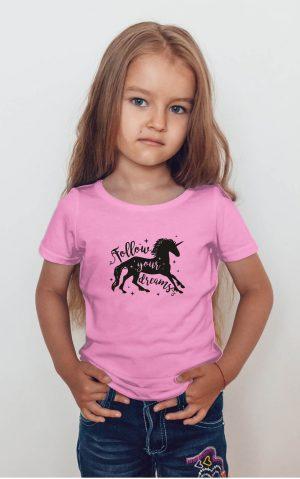 Koszulka jednorożec follow your dreams