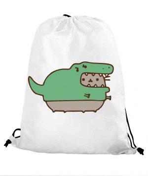 Worek szkolny kot puszin krokodyl