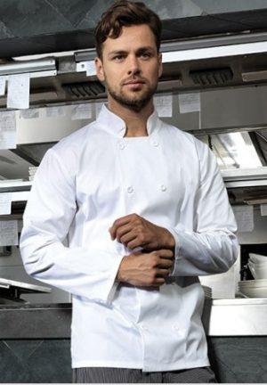 Kurtka szefa kuchni z nadrukiem do A3