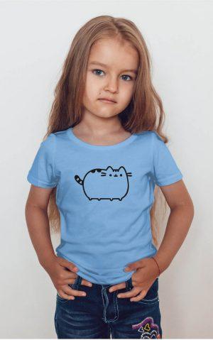 Koszulka kot puszin czarny