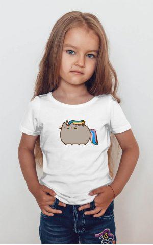 Koszulka kot puszin jednorożec