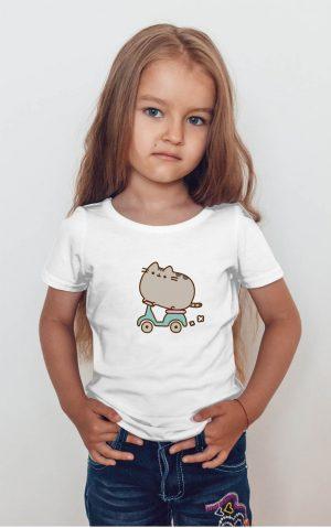 Koszulka kot puszin kierowca