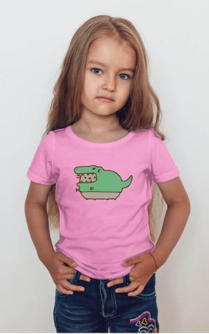Koszulka kot puszin krokodyl