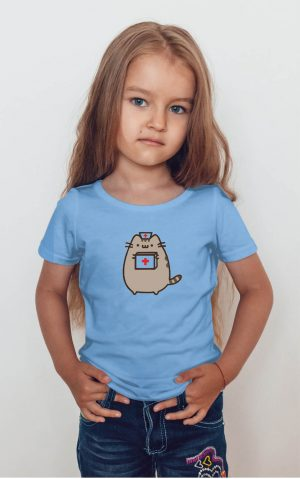 Koszulka kot puszin pielęgniarka