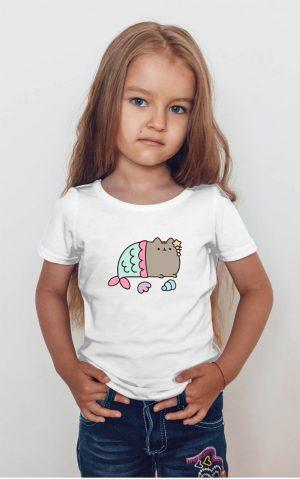 Koszulka kot puszin syrenka