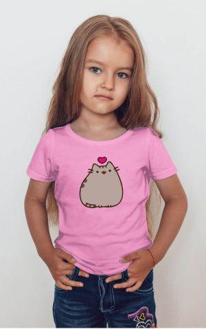 Koszulka kot puszin z sercem