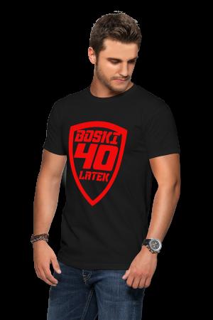 Koszulka na 40 urodziny - boski 40 latek