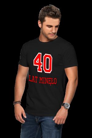 Koszulka na 40-stke - 40 lat minęło