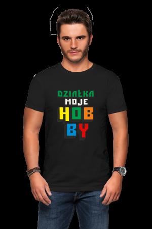 Koszulka działka moje hobby