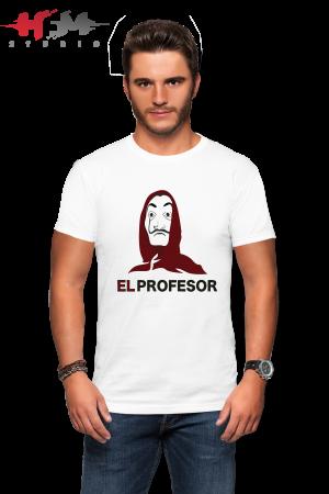 Koszulka el profesor dom z papieru